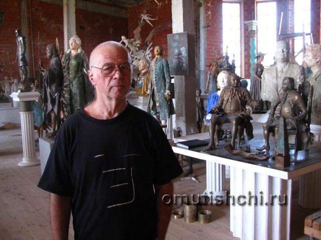 Скульптор Леонид Баранов
