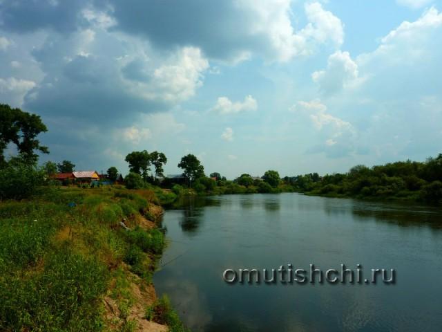 Река Клязьма - деревня Старые Омутищи