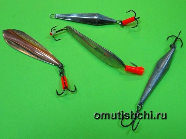 Блёсны для подлёдного лова на окуня
